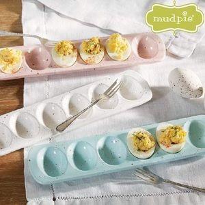 Mud Pie Six Deviled Egg Tray